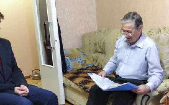Клуб «Мои Челны»: в гостях у ветерана техникума  Мымрина Владимира Егоровича