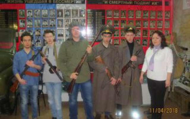 Посещение музея «Боевой славы»