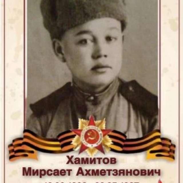 Хамитов Мирсает Ахметзянович