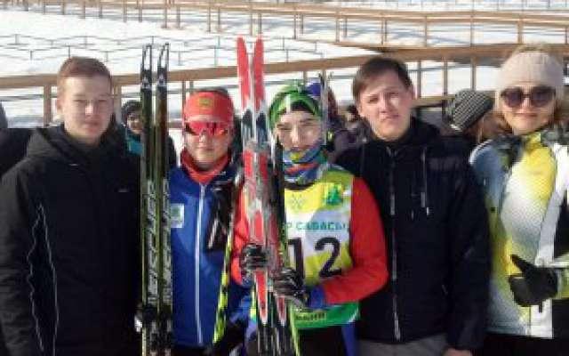 Соревнования по лыжным гонкам Спартакиады
